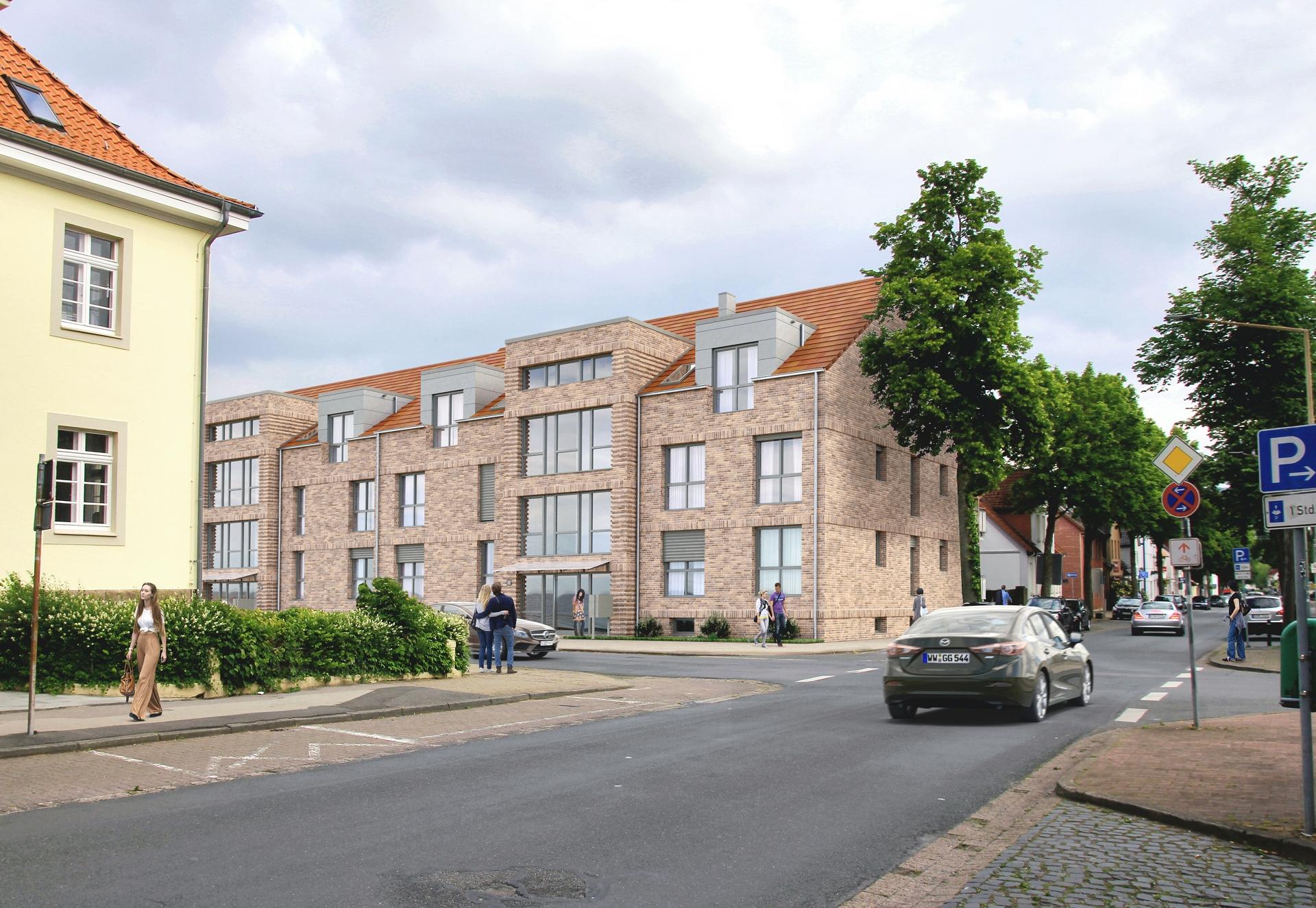 BV Bahnhofstraße Hauptansicht