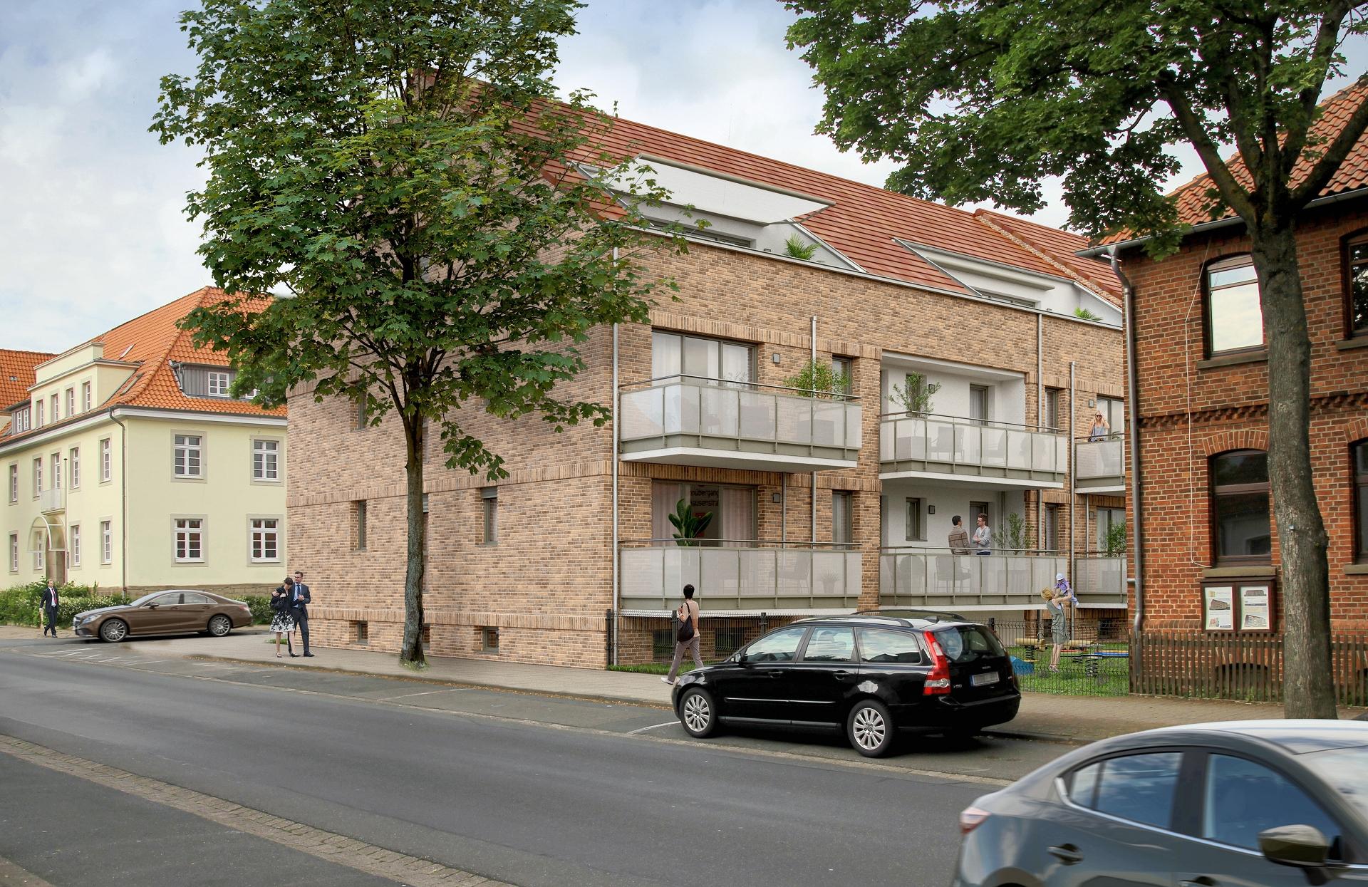 BV Bahnofstraße Blick Gartenseite